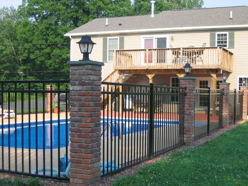 Swimming Pool Fence Ideas Besides Philippines Modern Fence Design