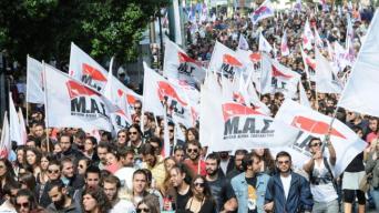 Il Fronte di Lotta degli Studenti (MAS) è un coordinamento di massa universitario, promosso dai militanti della gioventù comunista negli atenei