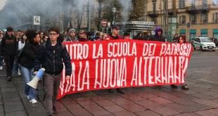 Foto: corteo studentesco a Torino, 8 novembre 2019