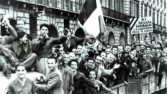 Foto della Liberazione di Cuneo