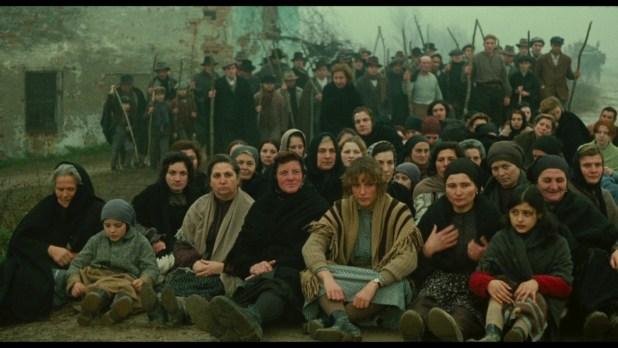 Lotte contadine in Emilia Romagna dopo la Prima Guerra Mondiale, rappresentate nel film Novecento di Bertolucci.