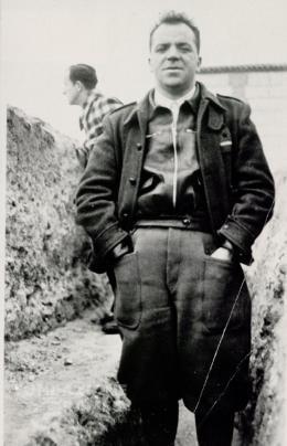 Vittorio Vidali durante la Guerra di Spagna