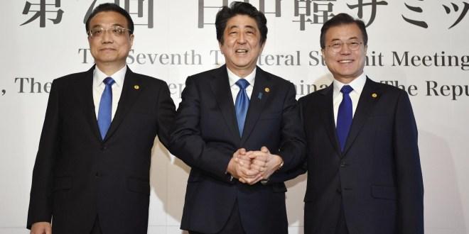 Cina – Corea del Sud – Giappone: si accelera per il trattato di libero scambio