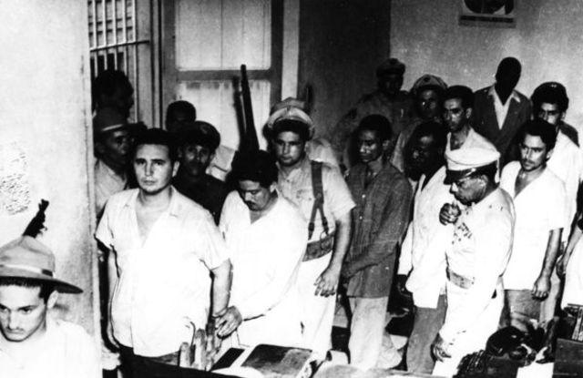 Fidel Castro arrested after Moncada Barracks attack, Cuba