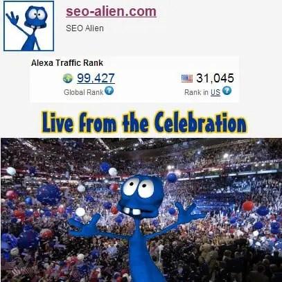 Alexa Celebration