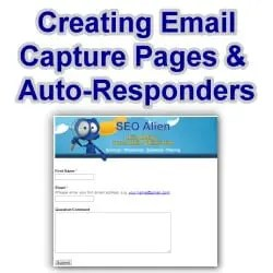 Creating an Email Capture Page with Autoresponder