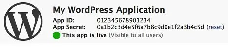 My WordPress Application