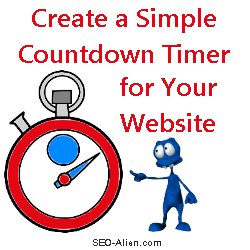 Add a Simple Countdown Timer to Your Website or Squeeze Page