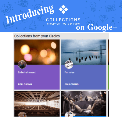 Google+ Introduces Google Collections
