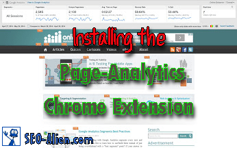 Installing the Google Page-Analytics Chrome Extension