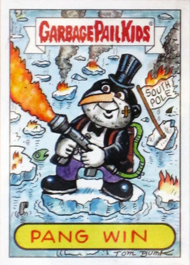GPK Pang Win as the Penguin.