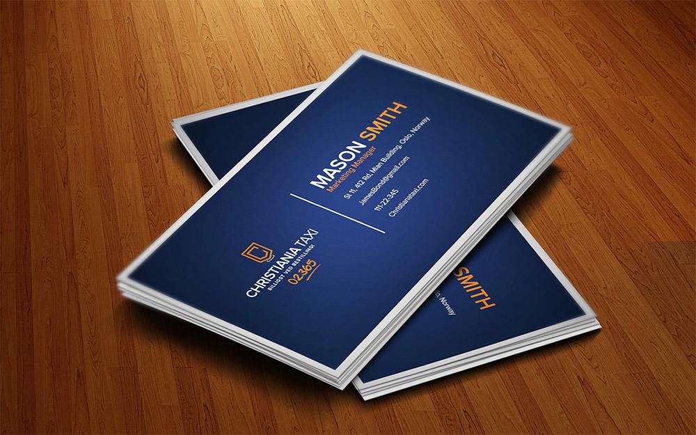 design OUTSTANDING business card for $10 - SEOClerks - buisness card design