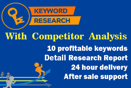 Do Keyword Research And Competitor Analysis for $8 - SEOClerks - competitor analysis report