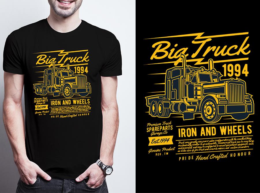 Do Typography T shirt Design for $5 - SEOClerks