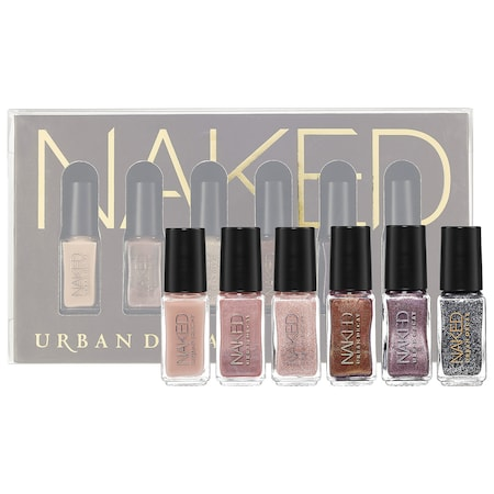 Urban Decay Naked Nail Polish Set