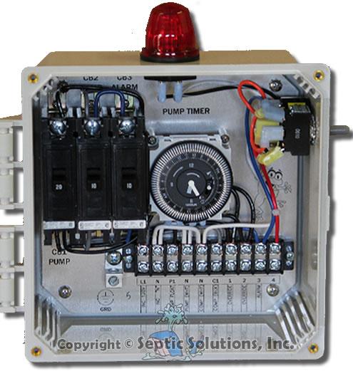 Aerobic System Control Panels, Aerobic System Control Box, Septic