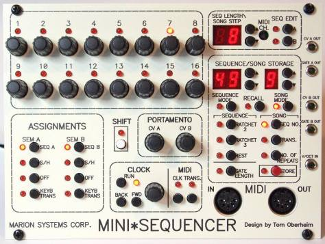 Marion Mini sequencer