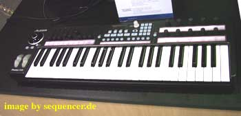 alesis x49 with beam