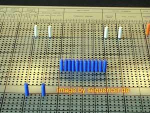 Synthi 100 matrix