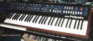 Korg Polysix Poly6 synthesizer