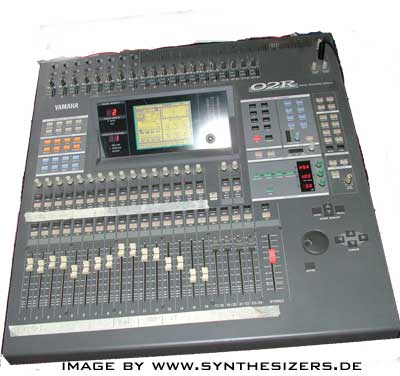 yamaha 02r digital mixing desk - mischpult