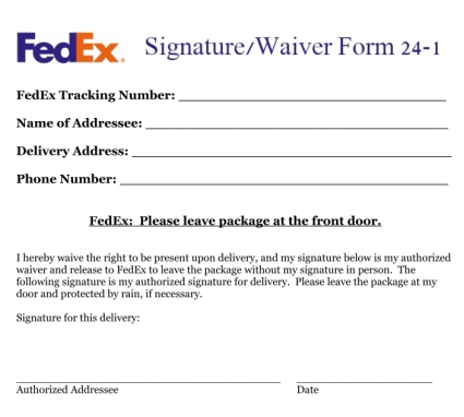 Does fedex home delivery require signature - Effects of chamomile tea - ups signature release form
