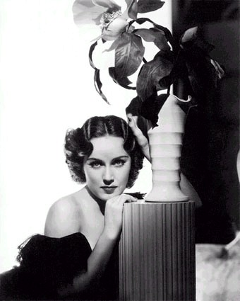 Studio portrait of Fay Wray, 1930's.