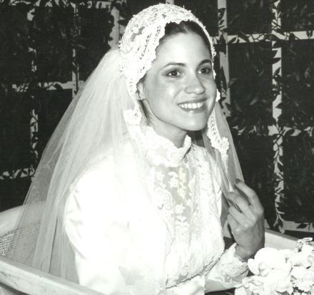 My bride Karen, June19, 1977.