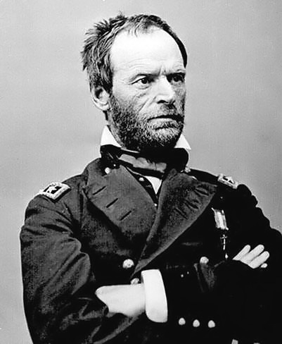 """War is the remedy that our enemies have chosen, and I say let us give them  all they want.""  ― William Tecumseh Sherman"