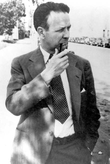 Raymond Chandler, novelist and co-screenwriter on Double Indemnity, The Blue Dahlia, Strangers on a Train, etc.