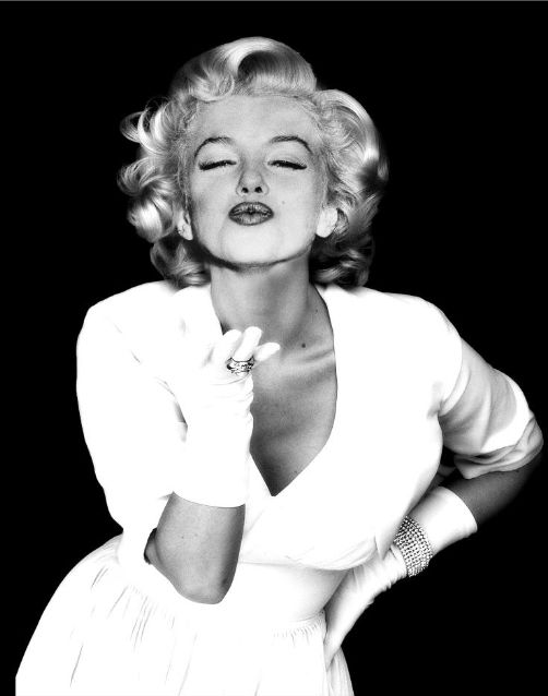 """The luckiest thing that ever happened to me was being born a woman."" —Marilyn Monroe"