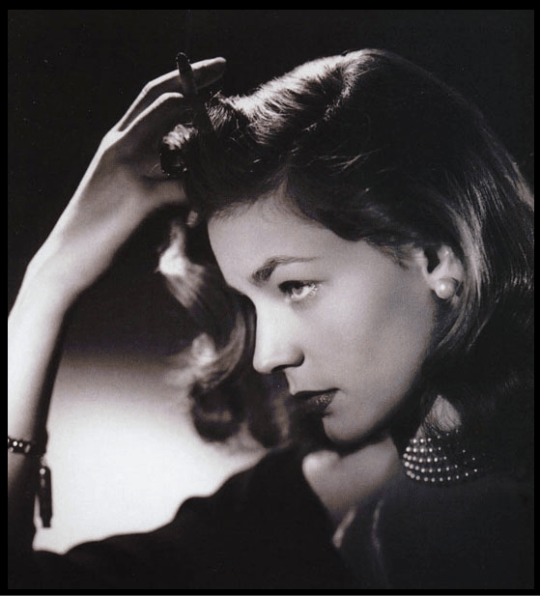 """I am not a has been, I am a will be."" —Lauren Bacall"
