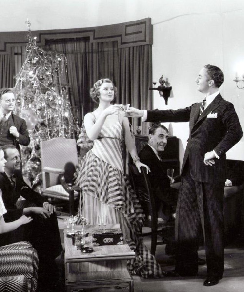 """Myrna Loy & William Powell in The Thin Man, 1934. She grinned at me. """"You got types?"""" """"Only you, darling - lanky brunettes with wicked jaws."""" -Dashiell Hammett, The Thin Man (1929)"""