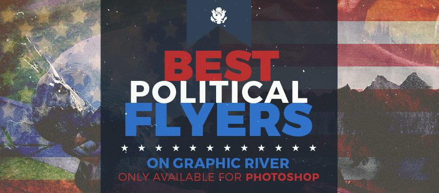 political event flyer