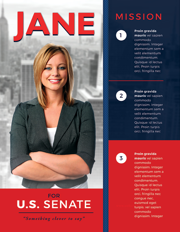Best Political Flyer Templates - SeraphimChris Graphic Design and - political brochure