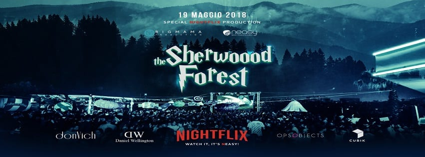 NEASY NAPOLI - Sabato 19 Maggio Sherwood Forest Party