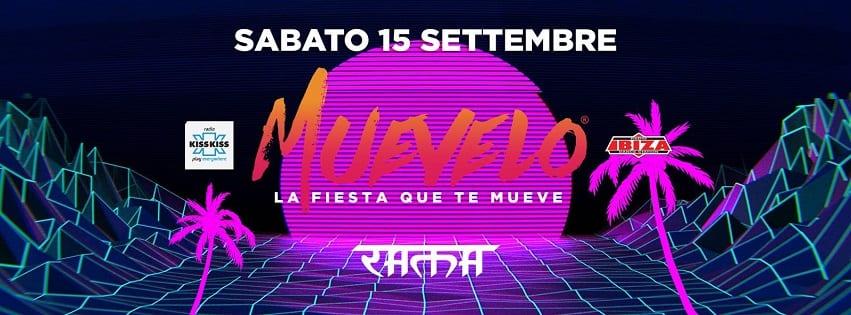 RAMA BEACH Varcaturo - Sabato 15 Settembre Muevelo Party