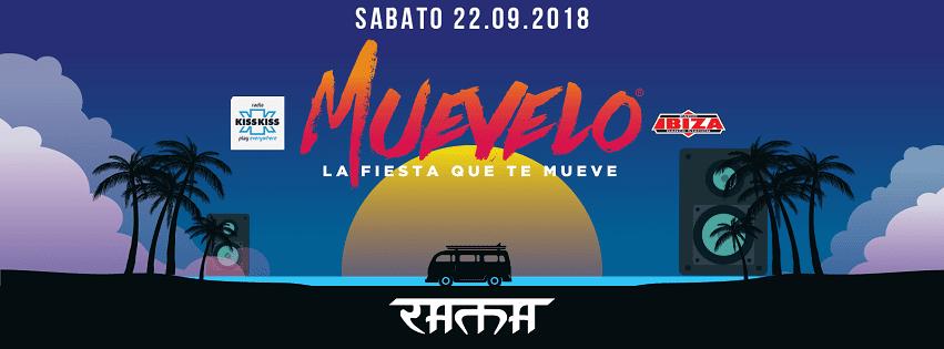RAMA BEACH Varcaturo - Sabato 22 Los Piratas Muevelo Party