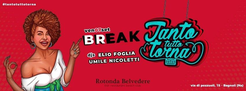 Rotonda Belvedere Napoli - Venerdi 7 Settembre Tanto Tutto torna