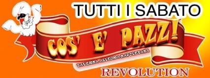 Taverna cos e pazz revolution logo