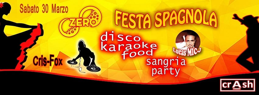 ZERO Discopub Pozzuoli - Sabato 30 Marzo Karaoke, Disco e Latino