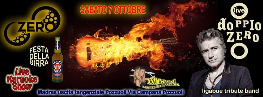 ZERO Discopub Pozzuoli - Sabato 7 Ottobre Live, Disco e Latino