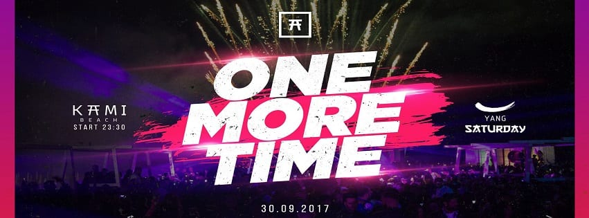Kami Beach Varcaturo - Sabato 30 Set One More Time