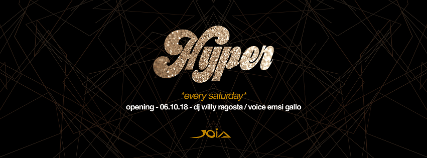 JOIA Napoli - Sabato 13 Hyper Exclusive Party