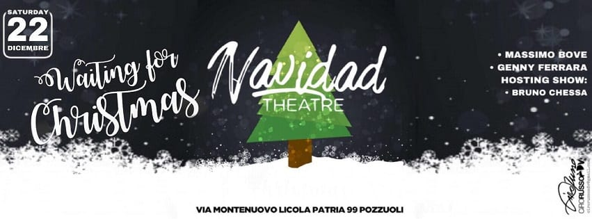 Navidad Pozzuoli - Sabato 22 Dicembre Cena & Disco