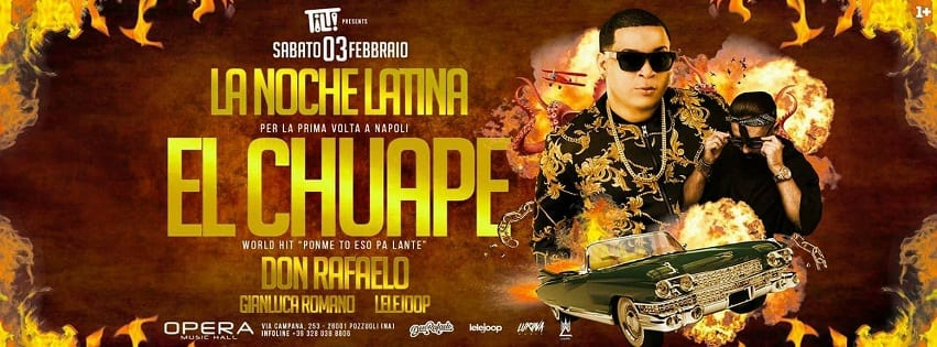 Opera Pozzuoli - Sabato 3 Feb El Chuape live in concert