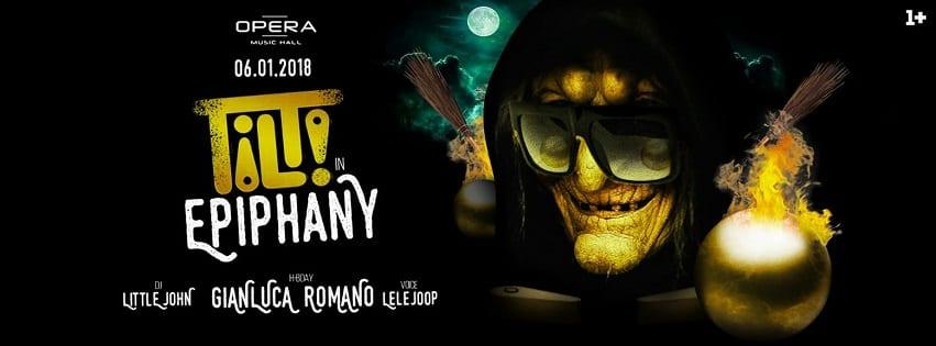 Opera Pozzuoli - Sabato 6 Gennaio Tilt in Epiphany Party