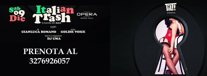 Opera Pozzuoli - Sabato 9 Dicembre Italian Party