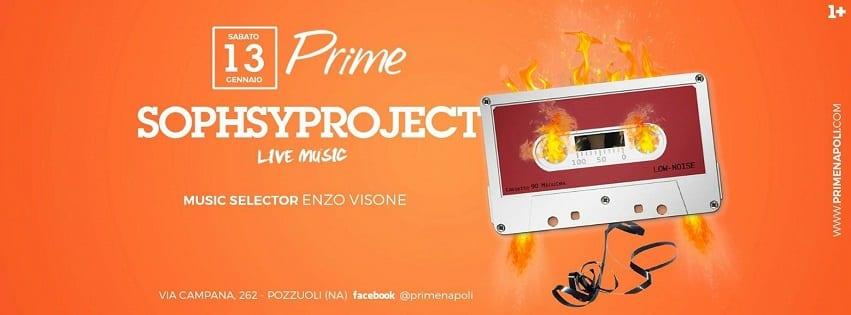 PRIME Pozzuoli - Sabato 13 Gennaio Live Music e Dj Set