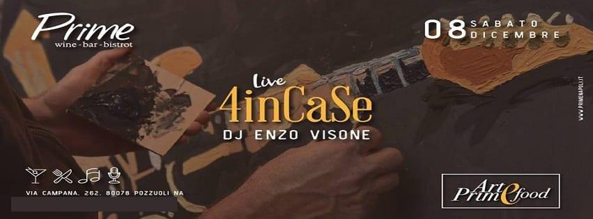 PRIME Pozzuoli - Sabato 8 Dic Live Music e Dj Set